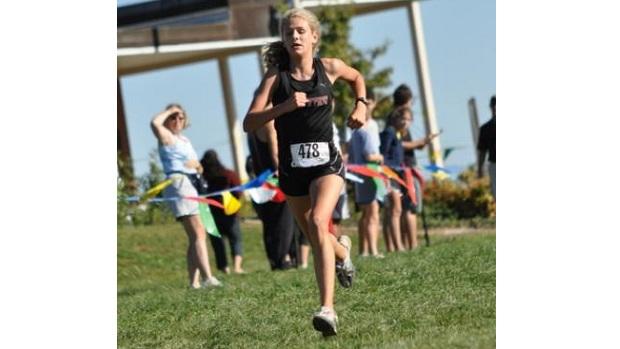 ... High School recalls her very first high school cross country race