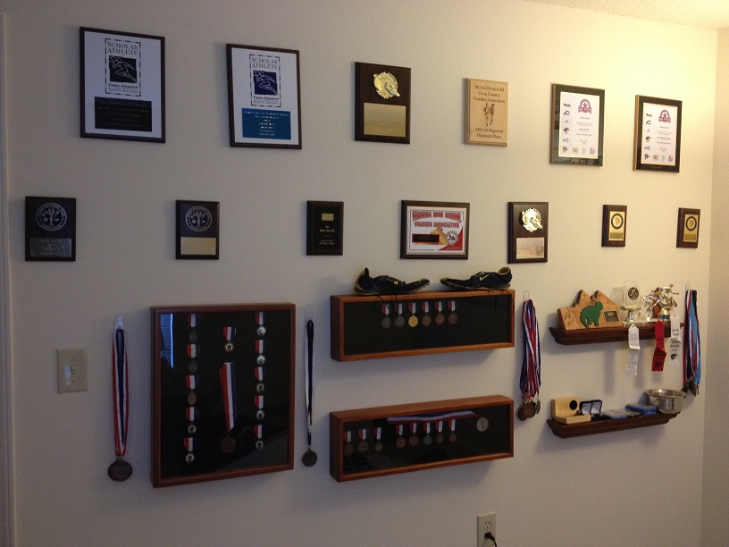 Send Us Your Decorated Walls or Rooms of Running Glory & Memories