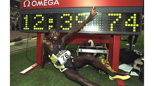 Two mile world record holder Daniel Komen of Kenya will be ...