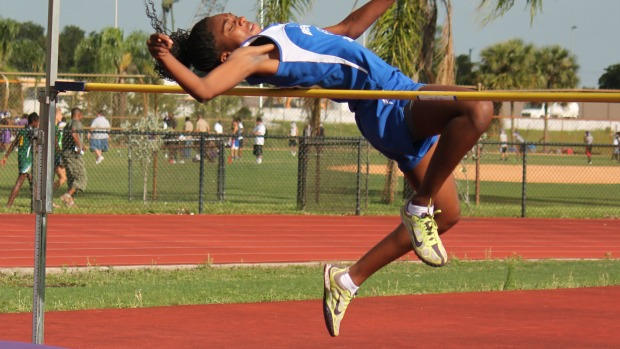 high school track and field meet schedule of events