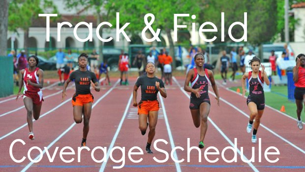 college track and field meet results live