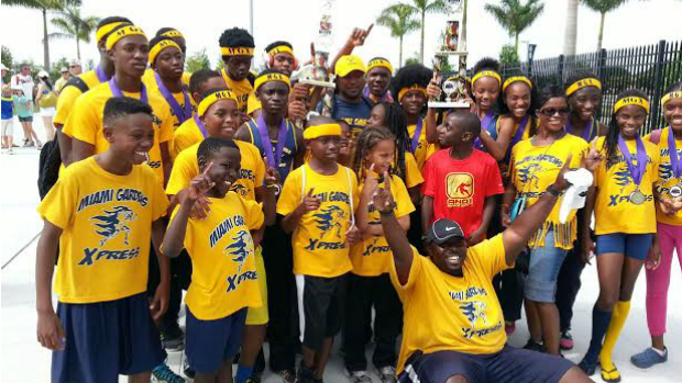 Miami gardens xpress sweeps middle school state championship titles