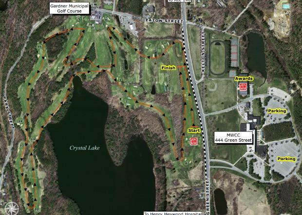Miaa x c championship central for Gardner golf course
