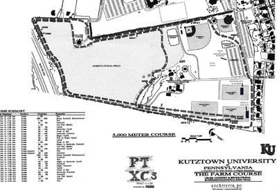 PTXC-3 Course Map