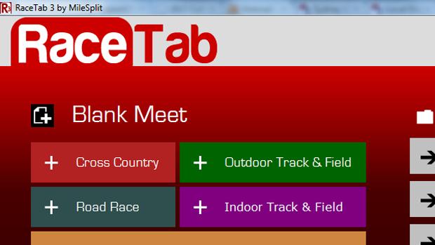 cross country meet software